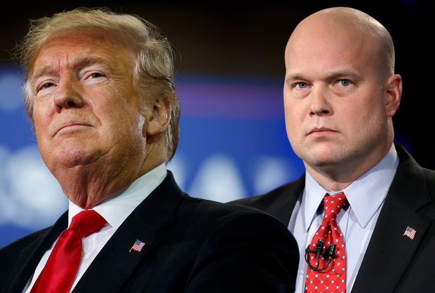 "Trump Berated Acting Attorney General Over ""Rogue"" Prosecutors — Sources"