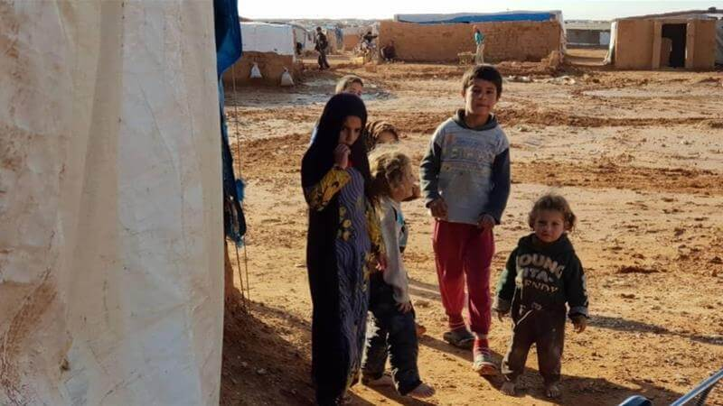 Syria Daily: Children Dying from Cold in Rukban Camp