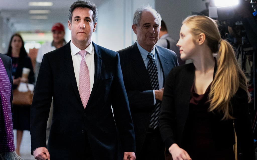 TrumpWatch, Day 768: Cohen Testimony v. Trump's North Korea Summit