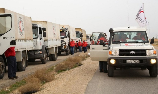 Syria Daily: UN Aid Convoy Reaches Displaced in Rukban Camp