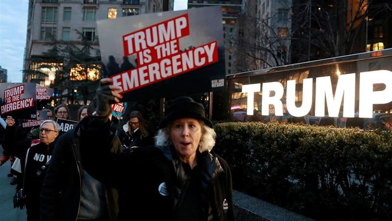 "TrumpWatch, Day 760: 16 States Sue to Block Trump's ""National Emergency"""