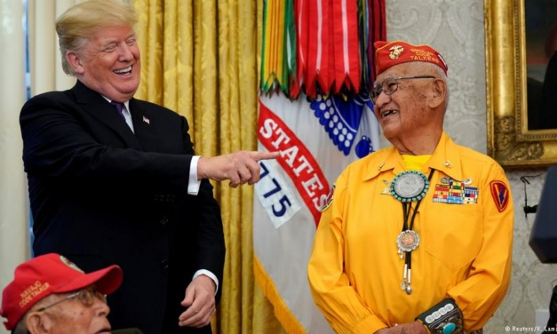 TrumpWatch, Day 751: Trump's Twitter Racism Jokes About Mass Killing of Native Americans