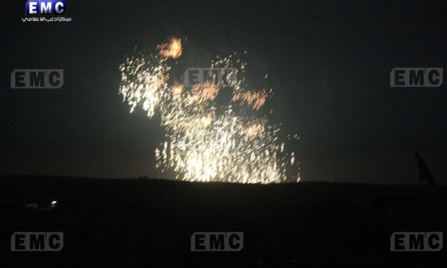 Syria Daily: Russian Bombing and Regime Incendiary Attacks on Idlib