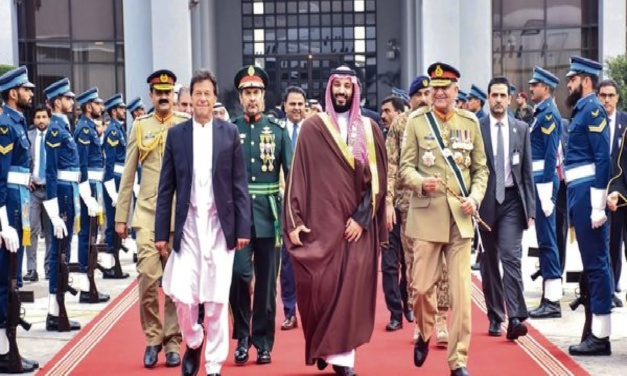 Falling in Love Again: Imran Khan, Pakistan's Military, and a Saudi Crown Prince