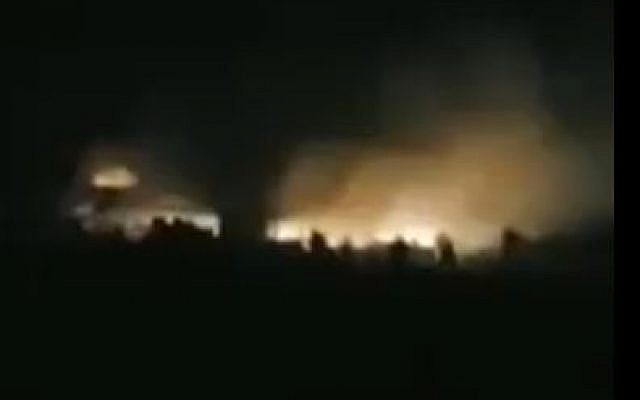 Syria Daily: Reports — Israeli Warplanes Strike Near Aleppo