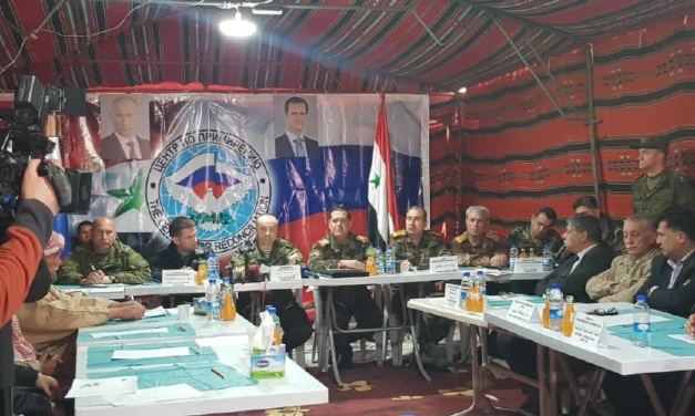 Syria Daily: Russia Convenes Meeting to Remove Displaced Syrians From Rukban