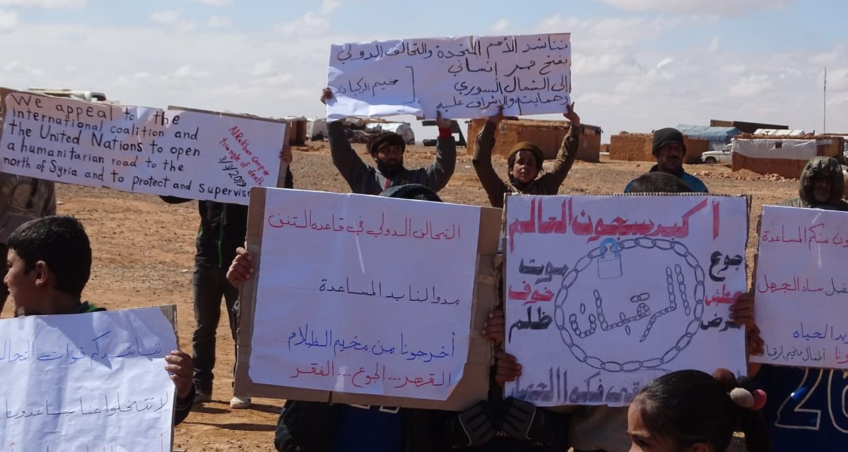 Syria Daily: Russia Maintains Its Lies Over 40,000+ Displaced in Rukban Camp