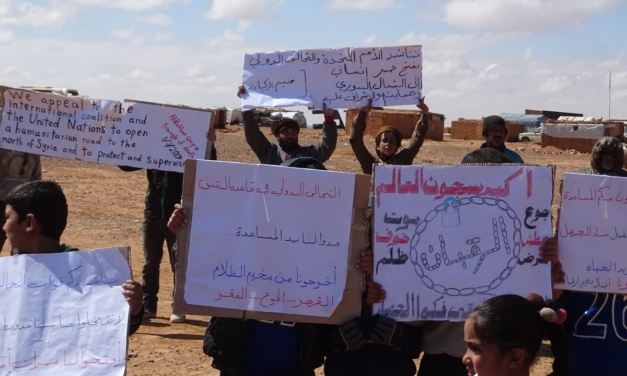 Syria Daily: Russia & Regime Say Children Threatened in Rukban — So Why is Camp Cut Off?