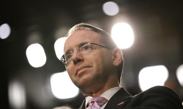Deputy Attorney General Rosenstein Resigns