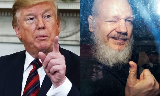 TrumpWatch, Day 812: Trump Runs Away from Assange and WikiLeaks