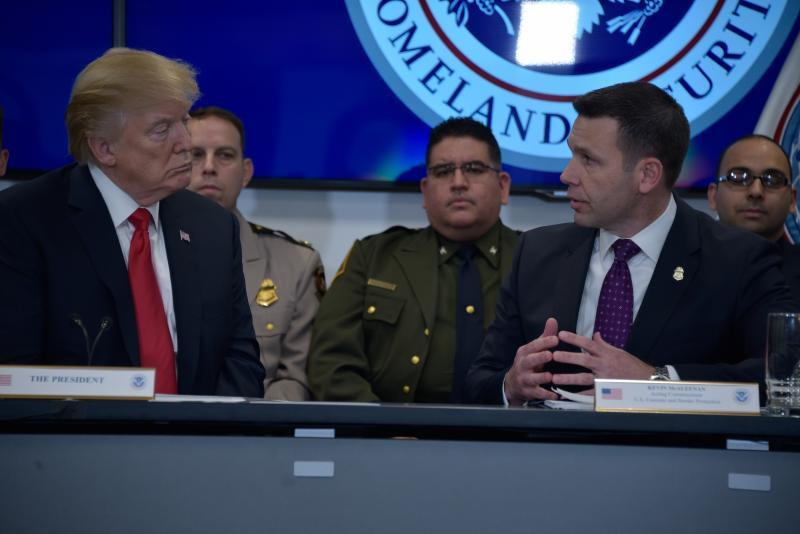 TrumpWatch, Day 813: Trump to Border Chief — I'll Pardon You if You Break Law