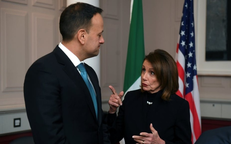 A Brexit Message from Nancy Pelosi and Irish-US Diplomacy