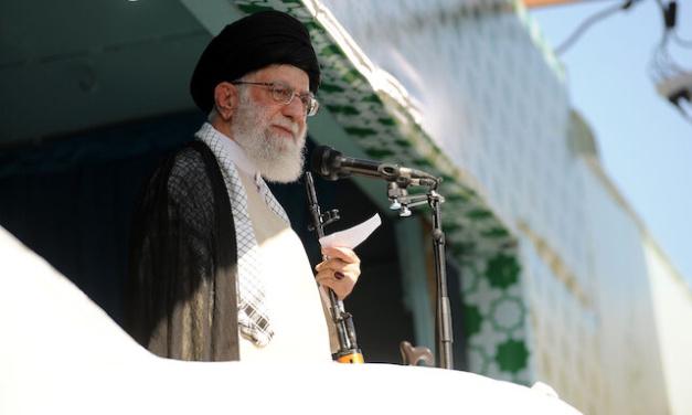 "Iran Daily: Supreme Leader Plays Palestine Card v. ""Treasonous, Villainous"" US"
