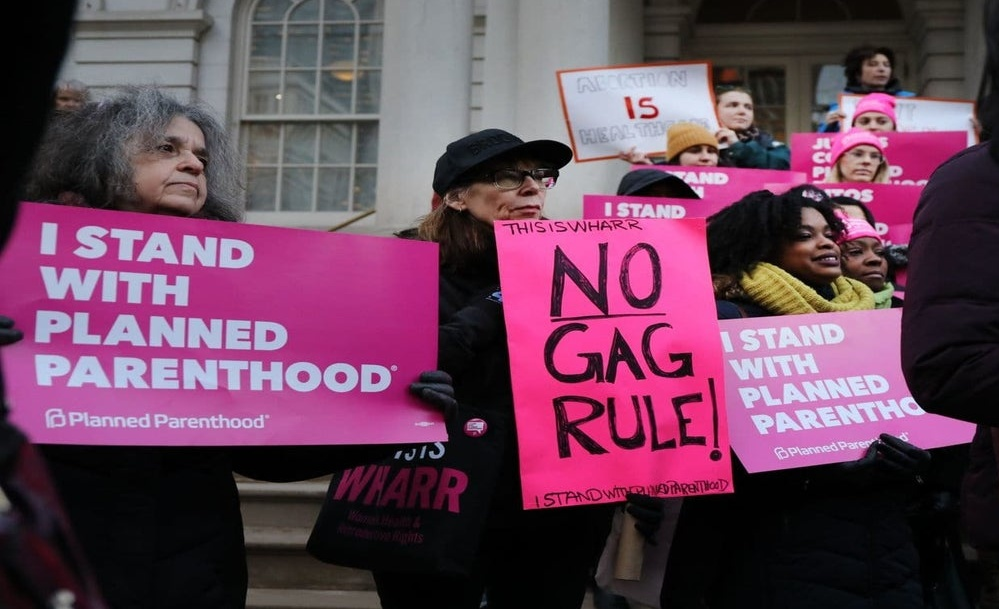 "TrumpWatch, Day 882: Court Allows Abortion Referral ""Gag Rule"" To Take Effect"