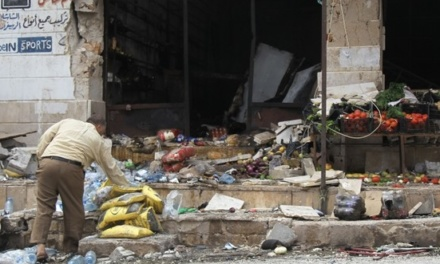 Syria Daily: At Least 12 Killed in Latest Regime Bombing of Idlib Market