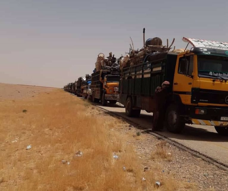 Syria Daily: 100s More Leave Besieged Rukban Camp