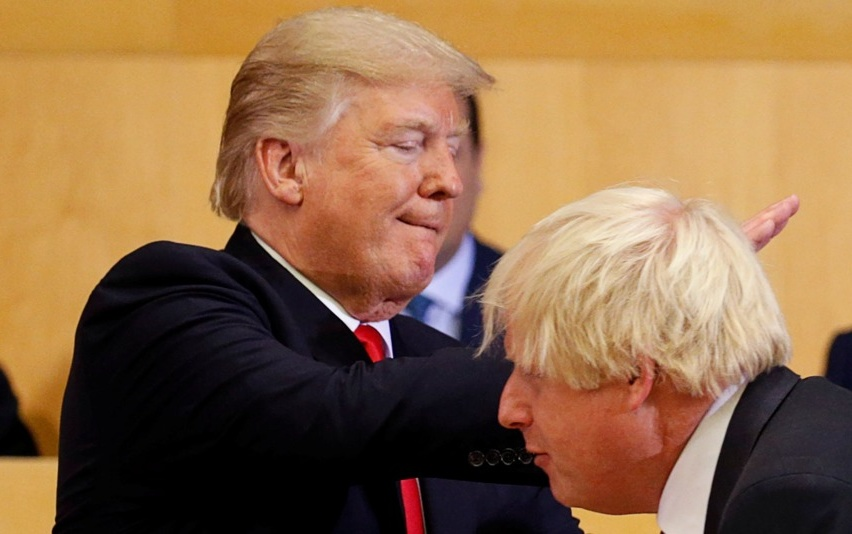 EA on talkRADIO: What Links Trump and UK's Johnson? Risking Economic Damage for Political Gain