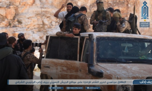 Anti-Assad Forces Counter-Attack v. Russia-Regime Advance in Northwest Syria