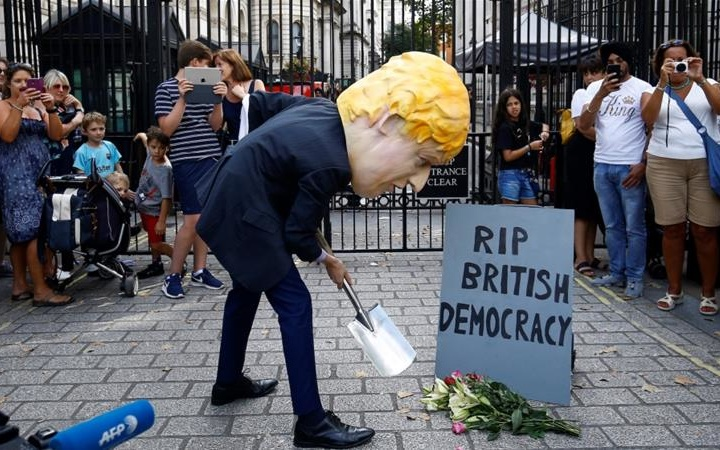 Stopping A Democracy: Boris Johnson's Road to No Deal Brexit Hell