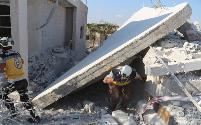Syria Daily: Regime Airstrikes on Idlib — Woman Killed, Civil Defense Center Damaged