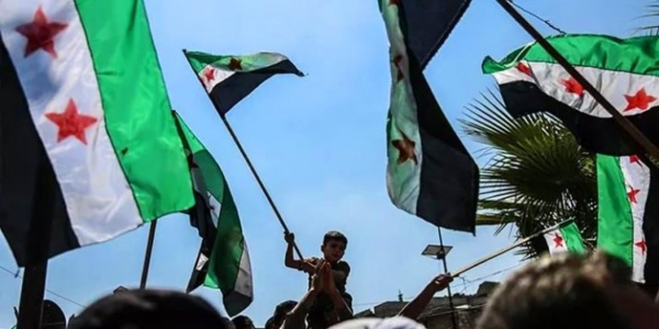 Rally in Idlib Province, northwest Syria, Septembet 6, 2019