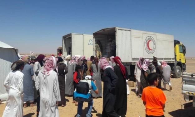 Syria Daily: Aid Convoy Finally Reaches Besieged Rukban Camp
