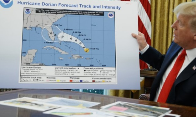 """TrumpWatch, Day 961: National Weather Staff Told, """"Don't Contradict Trump Over Alabama and Hurricane Dorian"""""""