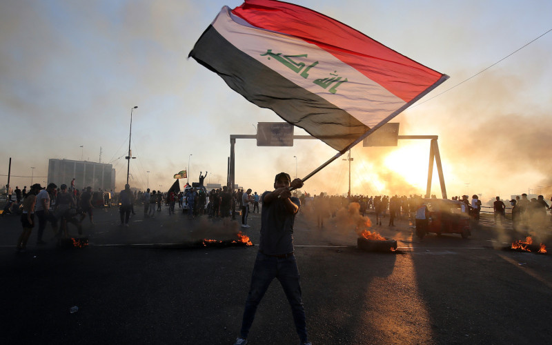 """Enough Silence"": Iraq Protests Expose A Damaged State and Facade of ""Democracy"""