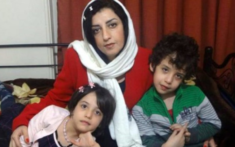 """Iran Daily: """"Her Children Have Not Seen Her For More Than 4 Years"""" — The Imprisonment of Narges Mohammadi"""