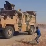 Syria Daily: Residents Pelt Turkish-Russian Patrol With Stones