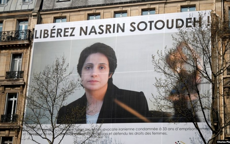 Iran Daily: Political Prisoner/Lawyer Sotoudeh — Investigate Killing of Protesters