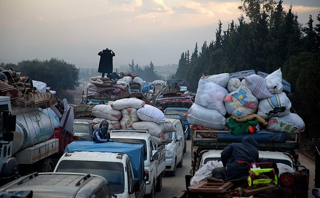 Syria Daily: Trump Tweets as Idlib Burns and Civilians Flee