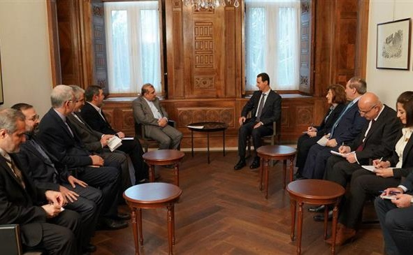 Syria Daily: Assad Meets Iran's Officials Amid Russia-Regime Offensive on Idlib