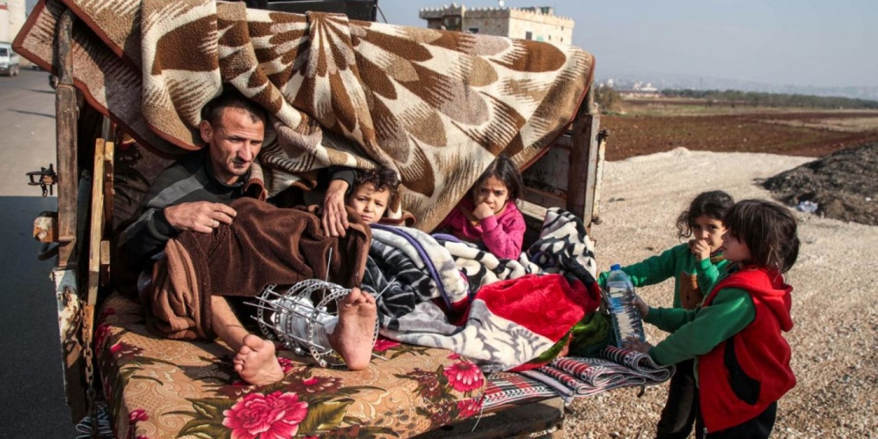 Syria Daily: 350,000 Displaced in Month by Russia-Regime Attacks on Idlib