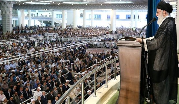 Iran Daily: Supreme Leader Highlights Crisis by Leading Friday Prayers