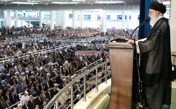 Iran Daily: Supreme Leader Highlights Crisis by Leading Friday Prayers