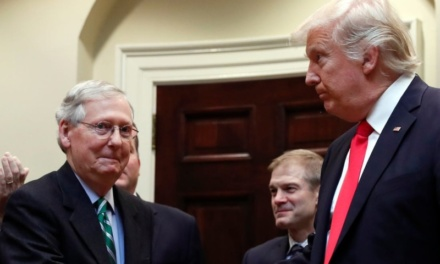 """TrumpWatch, Day 1,096: """"National Disgrace"""" — McConnell Proposes Non-Trial of Trump"""