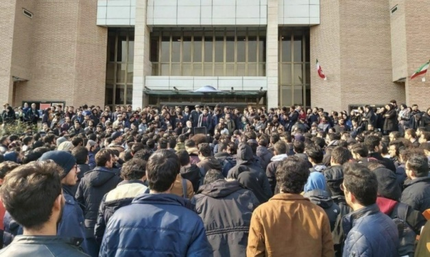 Student Protesters Pose New Challenge To Iran's Authorities