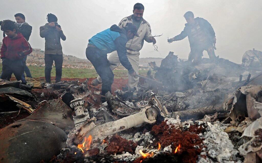 Syria Daily: Rebels Down 2nd Helicopter as Idlib Residents Protest Russia-Regime Offensive
