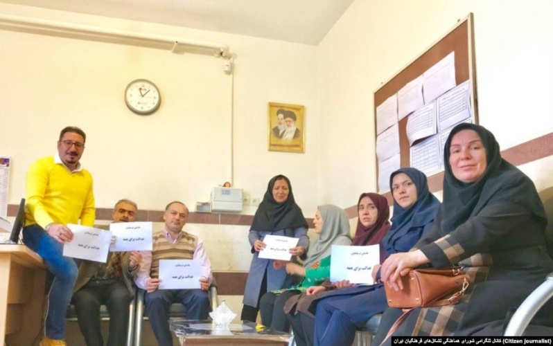 Iran Daily: 7 Teachers Given Total of 41 Years in Prison Over Protests