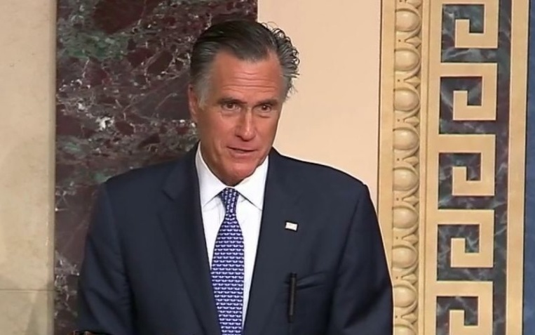 TrumpWatch, Day 1,112: Romney Rewrites Republican Ending of Trump Trial