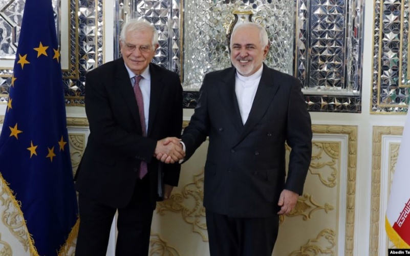 Iran Daily: European Union's Top Diplomat in Tehran for Talks