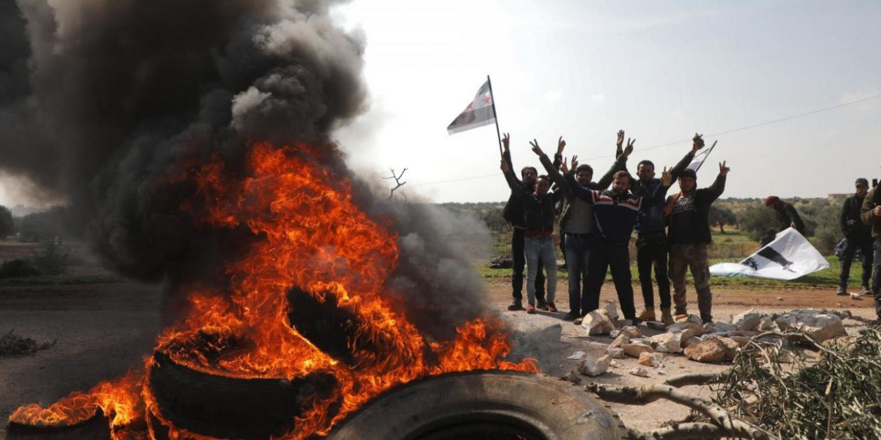 Syria Daily: Protests Block Turkish and Russian Patrols in Idlib