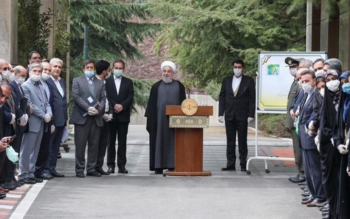 "Iran Daily: Rouhani Declares ""Coronavirus May Ease Within 3 Weeks"" — As Death Toll Surges"
