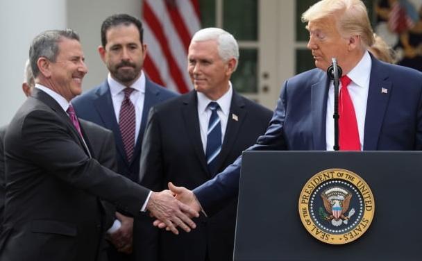 "TrumpWatch, Day 1,149: Coronavirus — Trump Says ""I Don't Take Responsibility at All"""