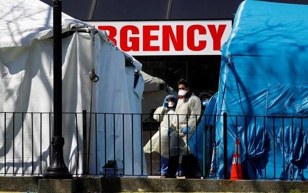 TrumpWatch, Day 1,163: Coronavirus — Trump Blasts Governors and General Motors as Cases Pass 100,000