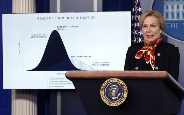 TrumpWatch, Day 1,167: Coronavirus — White House Projects 240,000 Deaths Amid Warnings Over Ventilators