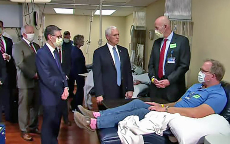 What Coronavirus? Pence Defies Hospital Policy, Refuses to Wear Mask