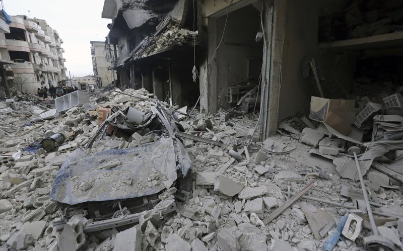 """Syria Daily: Amnesty — The Russia-Regime """"War Crimes"""" v. Schools and Hospitals"""