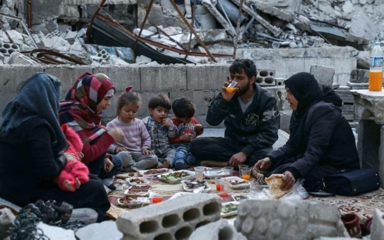 Ramadan in Ariha, Syria, May 2020